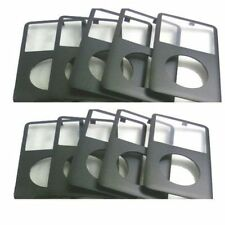 10PCS Black Front Housing Cover Face Plate Panel For iPod Classic 6th 7th Gen
