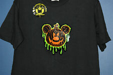 New Disney Parks MICKEY Halloween Light Up Sound Activated T-Shirt Adult L