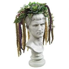 Roman Emperor Caligula Bust Head Sculpture Statue Planter Replica Reproduction