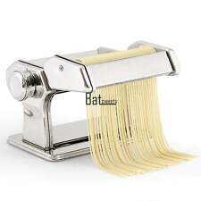 "Pasta Maker Roller Machine 7"" Dough Ravioli Fresh Noodle Making Stainless Steel"
