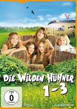 3 DVDs * DIE WILDEN HÜHNER BOX 1-3 ~ 1 + LIEBE + LEBEN ~ MB # NEU OVP =