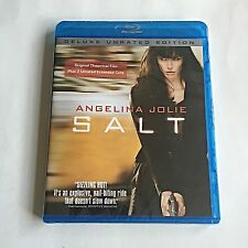 Salt Blu-Ray Unrated Deluxe Edition New & Sealed!
