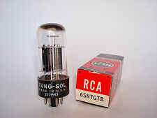 TUNG-SOL 322MN3 USA 6SN7GTB Tested Vacuum Tube