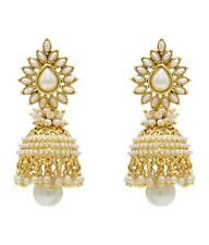 Aashiqui 2 Beautiful Jhumki Pearl Bollywood Style New Ethnic Earrings Set