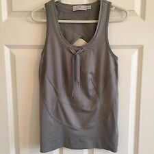 Stella Mccartney Adidas Silver Grey Gym Top Size XS