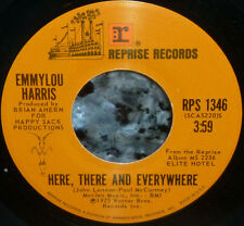 """* * EMMYLOU SINGS BEATLES """"HERE, THERE & EVERYWHERE"""" '75 CLEAN M- 45/company slv"""
