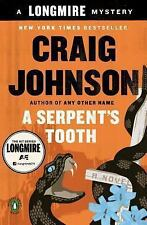 A Longmire Mystery: A Serpent's Tooth by Craig Johnson (2014, Paperback)