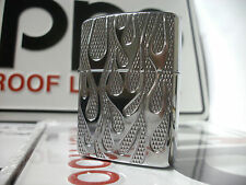 STUNNING RARE Zippo Windproof Lighter Flames Armor Edition HP Chrome 2011 NEW