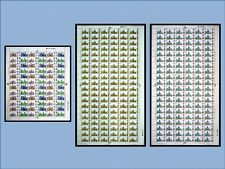 1969 Cathedrals set in FULL SHEETS UNMOUNTED MINT