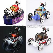 Mini Micro RC Radio Remote Control Racing Twister Stunt Car Vehicle Toy Gift Red