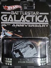 2013 HOTWHEELS - Retro entertainment G - BATTLESTAR GALACTICA Cylon Raider