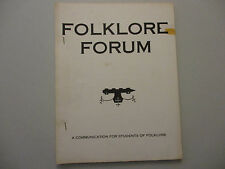 Urban Legend Pop Culture Bluegrass Gospel Music Mass Media Folklore Forum 1971