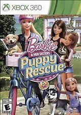 Barbie & Her Sisters Puppy Rescue RE-SEALED COMPLETE Microsoft Xbox 360 GAME