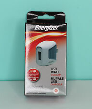 Energizer USB Cord Wall Charger Charging Station New in box  For usb devices