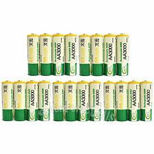 20 pcs AA 3000mAh Ni-Mh 1.2V rechargeable battery Cell for MP3 RC BTY US Stock