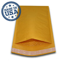 "250 #0 6x10 KRAFT BUBBLE PADDED MAILERS SHIPPING SELF SEAL ENVELOPES 6"" x 10"""