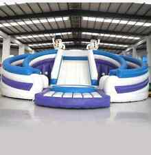 Bouncy Castle huge big Jumping Inflatable water slide park Trampoline Playground