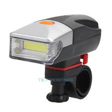 5W COB LED Bicycle Bike Cycling Front Rear Tail Light +5 LED Taillight Lamp