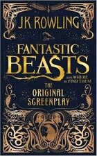 Fantastic Beasts and Where to Find Them: The Original Screenplay by JK Rowling