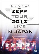Teen Top Zepp Tour 2012 Live In Japan (2 DVD Disc + 54 page Photo Book)