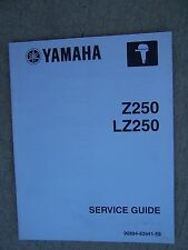 2002 Yamaha Outboard Motor Service Guide Manual Z250 LZ250 MORE IN STORE!!  U