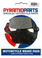 Honda NT 650 Hawk GT 88-91 Rear Brake Pads