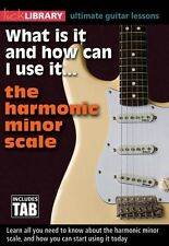 What Is It and How Can I Use It... The Harmonic Minor Scale Guitar 000155177