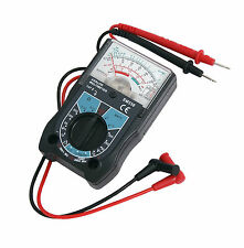 CT2835 Analogue Multimeter Tests DC & AC Voltage, DC Current & Resistance, Leads