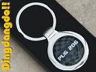 Pug 206 Chrome Alloy Keyring Key Ring Gift fit for Peugeot