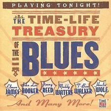 THE TIME - LIFE TREASURY OF THE BLUES - VARIOUS ARTISTS - CD - NEW