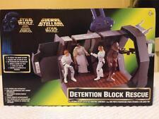 Star Wars Conjunto de rescate de juguete de bloque de detención por Kenner-sin Usar, En Caja