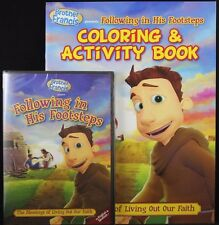 Brother Francis Following in His Footsteps DVD Coloring & Activity Book SET NEW
