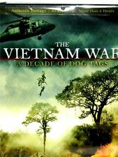 The Vietnam War: A Decade of Dog Tags 2 DVD ,NEW! 21 FILMS, 8 HOURS , FREE SHIP