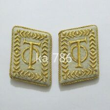 WWII GERMAN ARMY ORGANISATION TODT OT COLLAR TABS KRAGENSPIEGEL