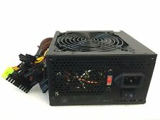 600W 600 Watt 120mm Fan ATX Black SATA PCI-E Power Supply for Intel AMD PC Unit