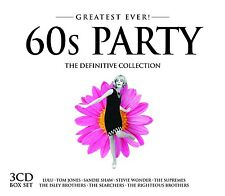60S PARTY - GREATEST EVER 3 CD NEU STEVIE WONDER/SCOTT MCKENZIE/MARMALADE/+