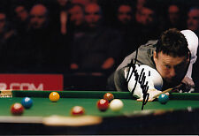 Jimmy White Hand Signed Snooker 12x8 Photo.