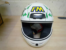 Genuine FM Axe South Park Helmet White Size: 54/XS. New. FREE MAINLAND UK P&P