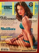ELLE 1/06/2012 - Natalia Vodianova Justin Bieber Style Mode Beaute Maillots