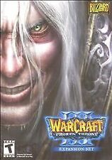 WarCraft III 3: The Frozen Throne PC Game and Booklet