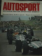 WARWICK FARM SURFERS PARADISE TASMAN JIM CLARK LOTUS 49T RINDT PIERS COURAGE