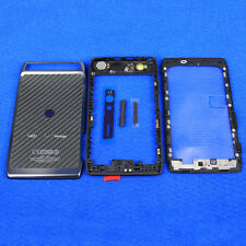 Full Housing Cover Case Battery Door Black for Verizon Droid Razr XT910 XT912
