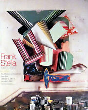 Frank Stella 1987 Exhibition Poster Signed