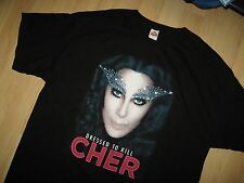 Cher 2014 Concert Tee - Dressed To Kill Tour Cher Bono Concert Diva T Shirt XXL