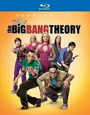 Big Bang Theory: Season 1-5 (Blu-ray Disc, 2012, Canadian)