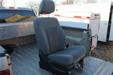 2011 12 13 14 15 FORD F150 F250 F350 F450 PASSENGER SEAT GRAY CLOTH  BUCKET SEAT