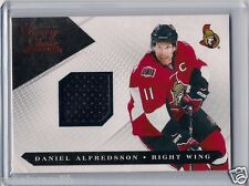 2010-11 Luxury Suite #48 Daniel Alfredsson JERSEY numbered 323/599 black swatch