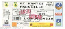 Billet / Place Olympique de Marseille - Nantes vs OM - 2005 ( 028 )
