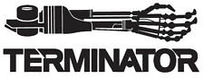 TERMINATOR 04 T-800 Arm Car Vinyl Decal Sticker 20cm x 7cm