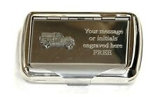Land Rover Tobacco Hand Rolling Ups Cigarette Tin Defender Farming Vehicle Gift